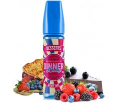 Příchuť Dinner Lady Shake and Vape 20ml Berry Tart