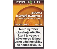 Liquid Ecoliquid Premium 2Pack Coffee Cake 2x10ml - 20mg
