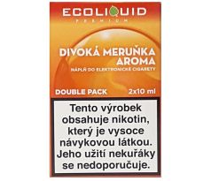 Liquid Ecoliquid Premium 2Pack Wild Apricot 2x10ml - 3mg