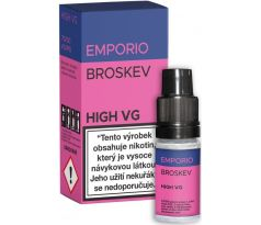 Liquid EMPORIO High VG Peach 10ml - 3mg